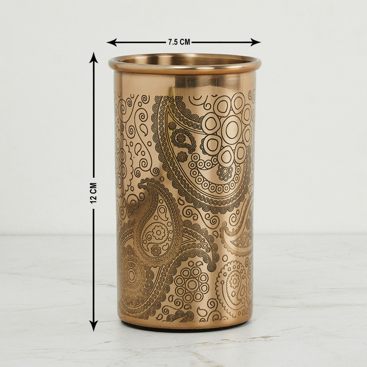 Vintage Renditions Textured Metal Tumbler