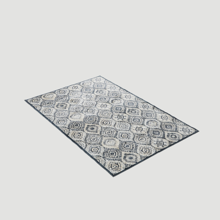 Burnish Viscose Jacquard Carpet - 124 x 186 cm