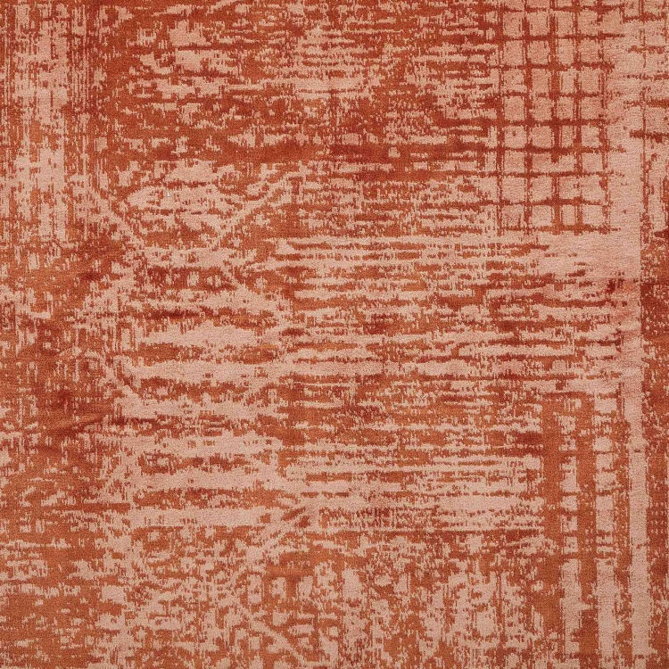Burnish Viscose Jacquard Carpet - 50x150 cm