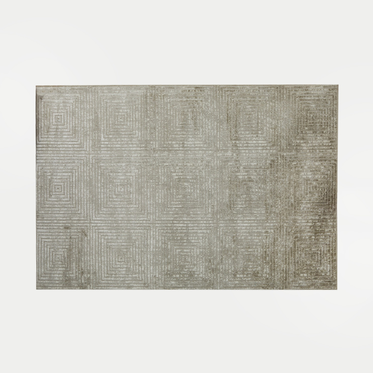 Mono Burnish Jacquard Carpet - 90 x 150 cm