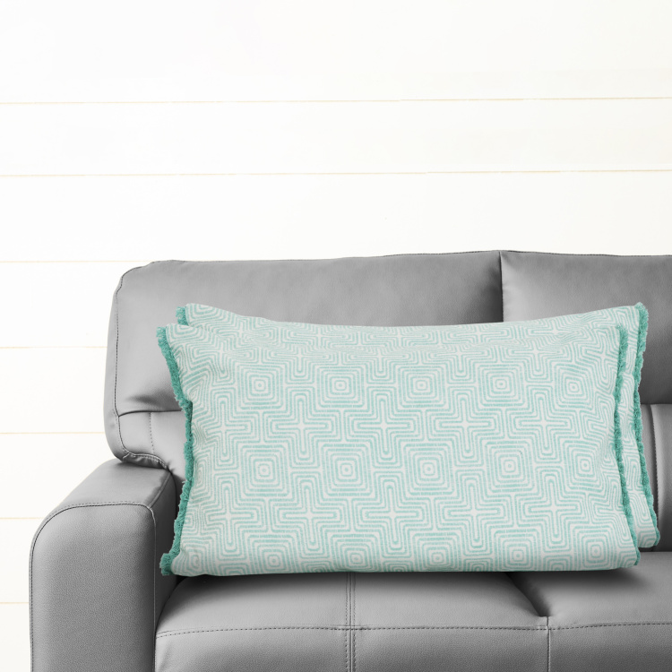 Mandarin Printed Cushion Covers - Set of 2 - 30 x 50 cm