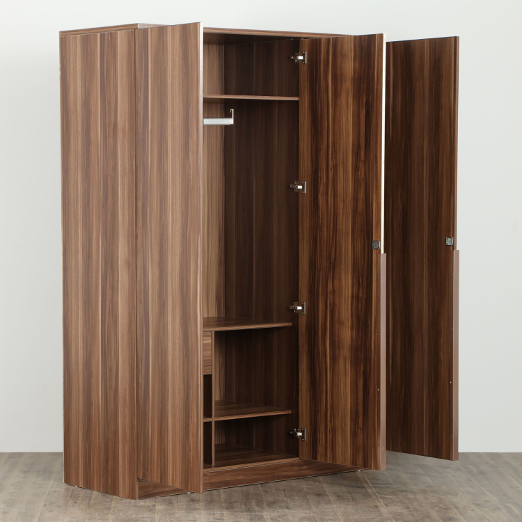 Antonio Dual-Tone Three Door Wardrobe