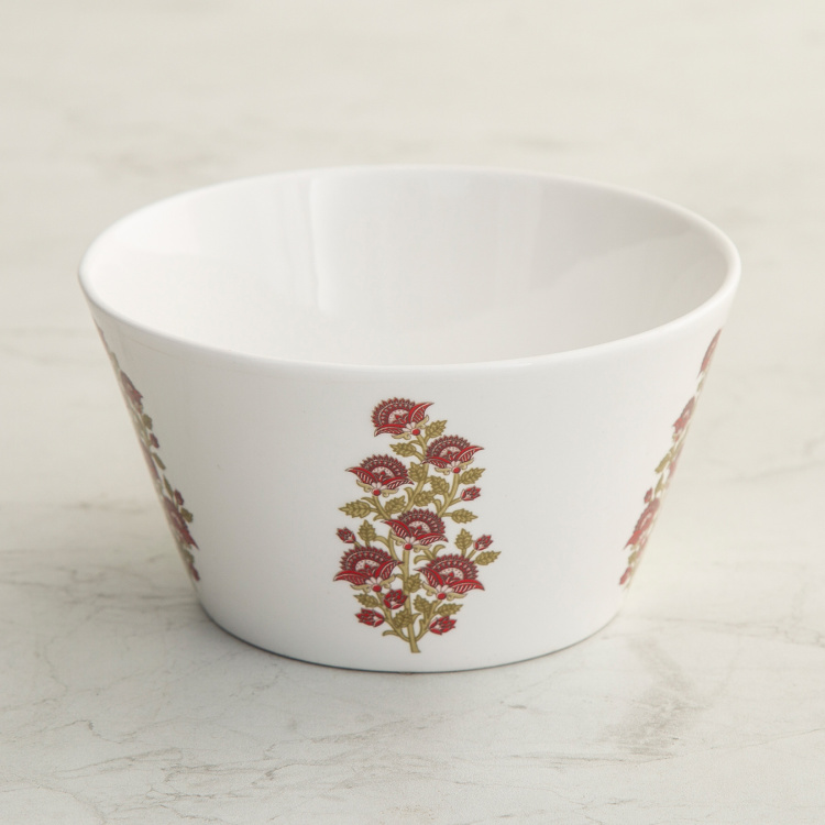 Mandarin Printed Curry Bowl - Set of 3 - 620 ml