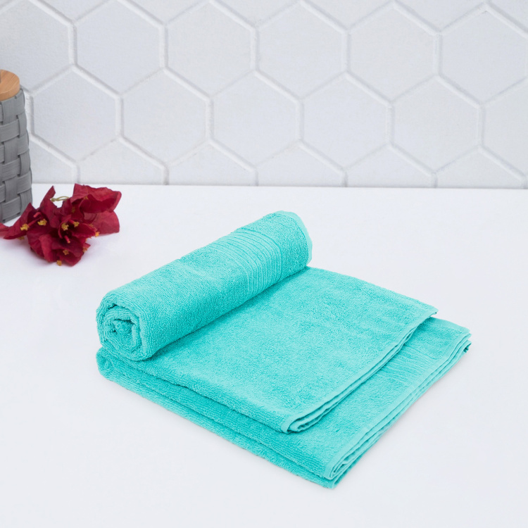 Colour Connect Hilda Solid Bath Towels - Set of 2 - 65 x 130 cm