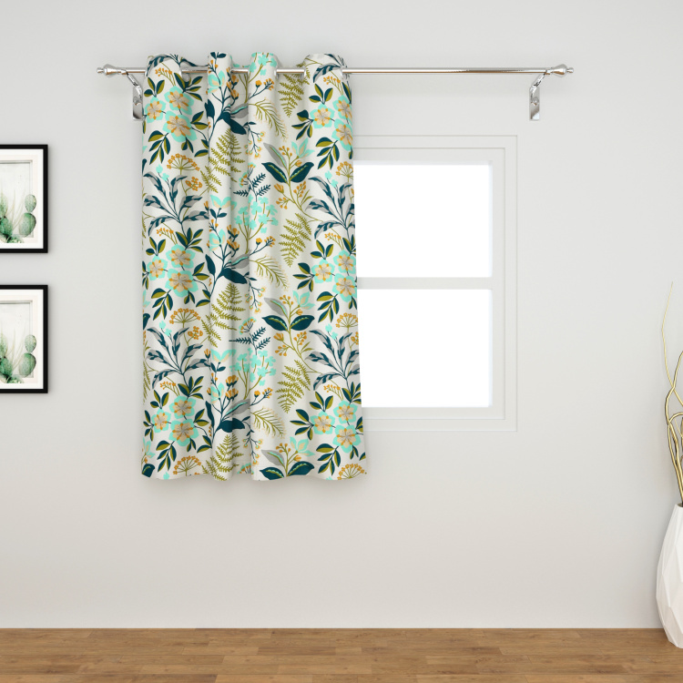 Saddle Amazilia Printed Semi-Blackout Window Curtain - 110 x 160 cm