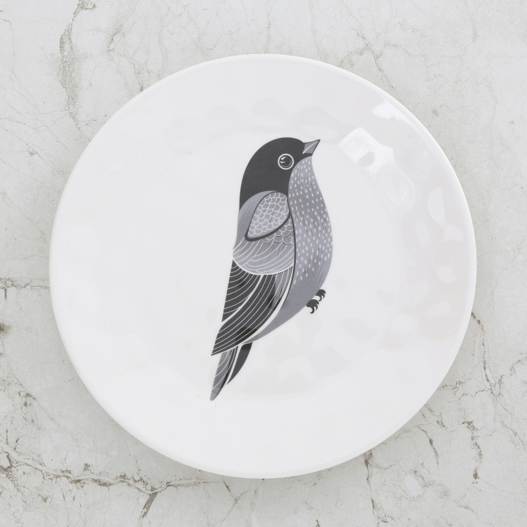 Meadows-Siena Bird Print Side Plate