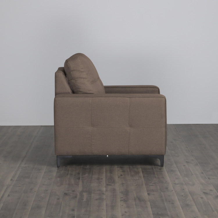 Allen Solid One-Seater Sofa