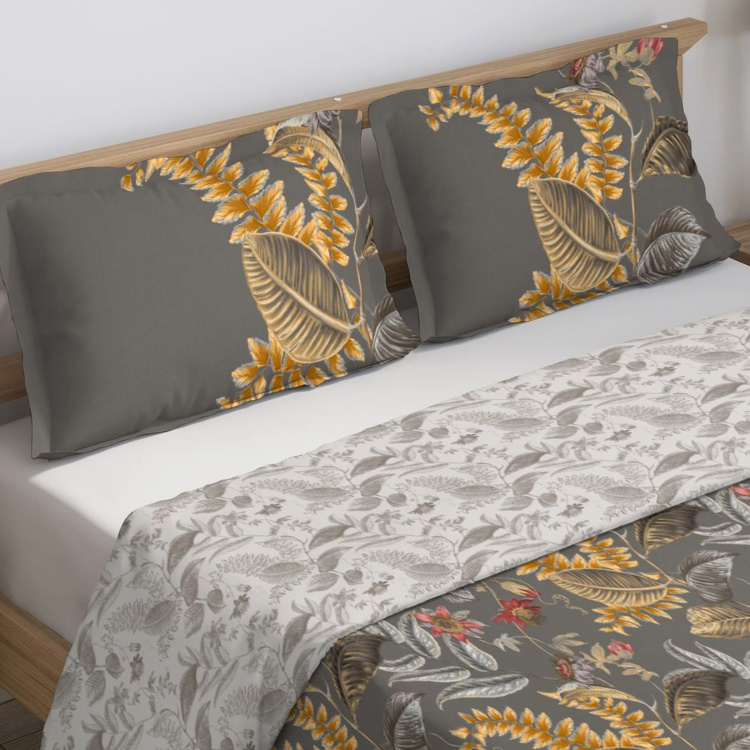 D'DECOR Cherish Printed Double Comforter - 229 x 274 cm