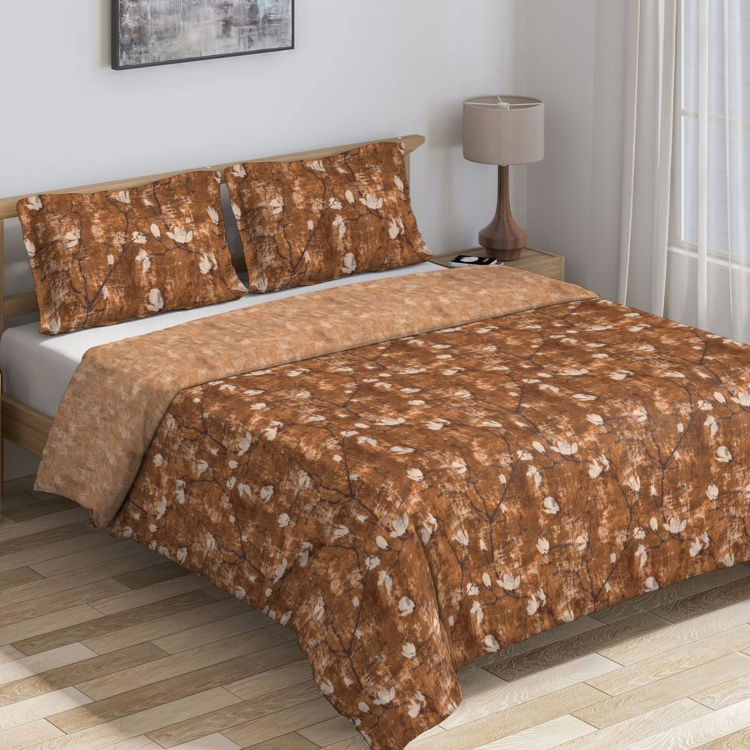 D'DECOR Cherish Printed Double Bed Comforter - 229 x 274 cm