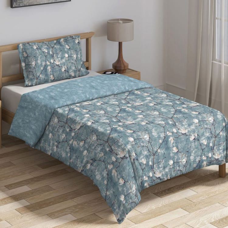 D'DECOR Cherish Printed Single Bed Comforter - 152 x 229 cm