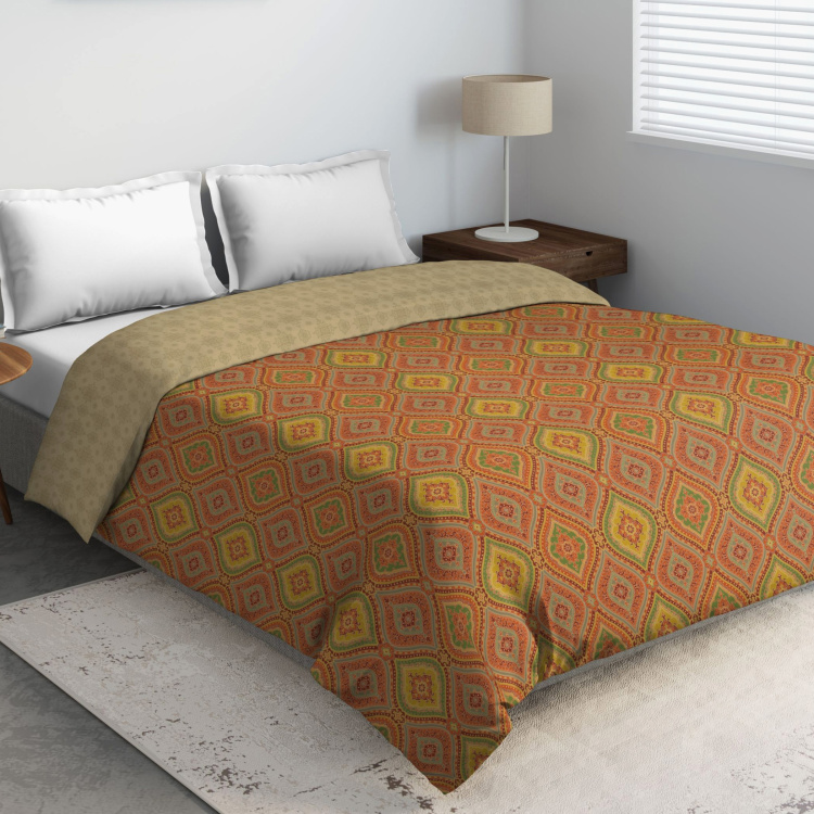 D'DECOR Primary Printed Double Bed Comforter - 229 x 274 cm