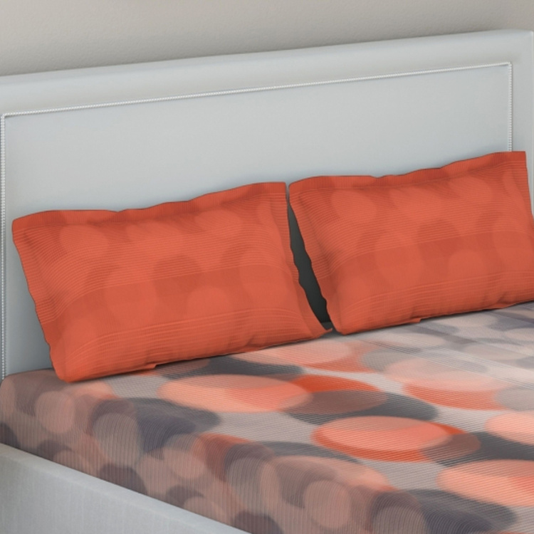 D'DECOR Printed 3-Piece Bedsheet Set - 274 x 229 cm