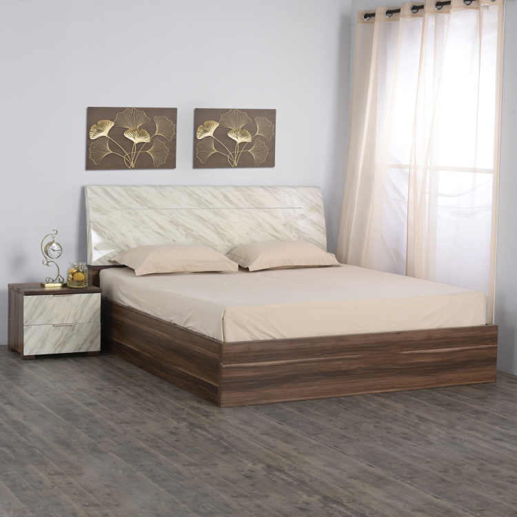 Antonio Liri Queen-Size Bed with Hydraulic Storage