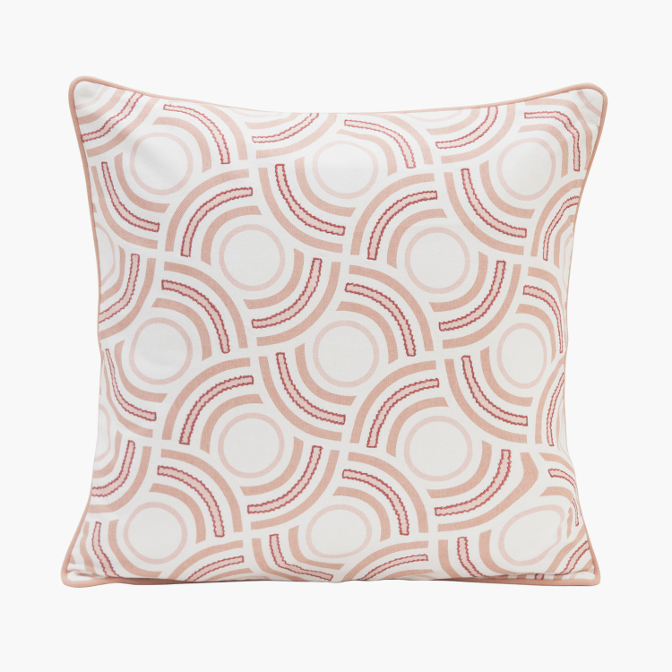 MASPAR Patina Printed Cushion Cover - 50x50 cm