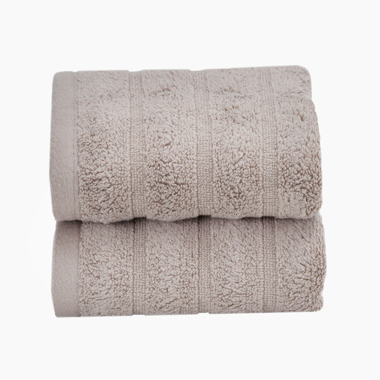 Maspar Solid Hand Towel-Set of 2-40 x 70 cm