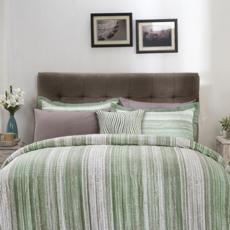 MASPAR Patina 7-Pc. Printed Double Bed Quilt Set - 228 x 265 cm