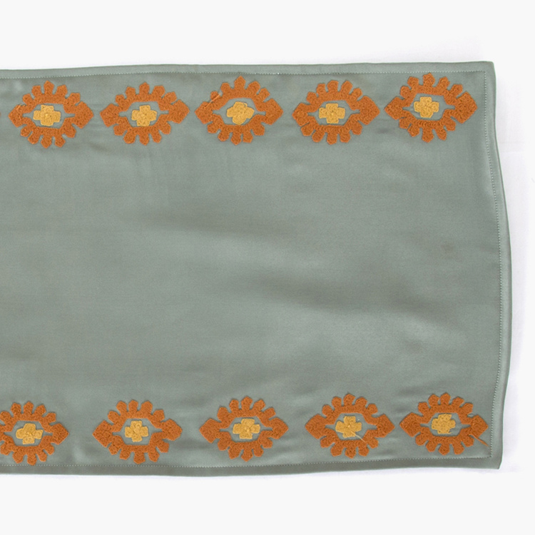 MASPAR Embroidered Table Runner-33 x 213 cm