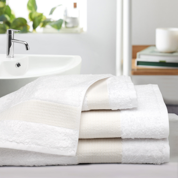 PORTICO New York Lagoon Bamboo Solid Towel Set
