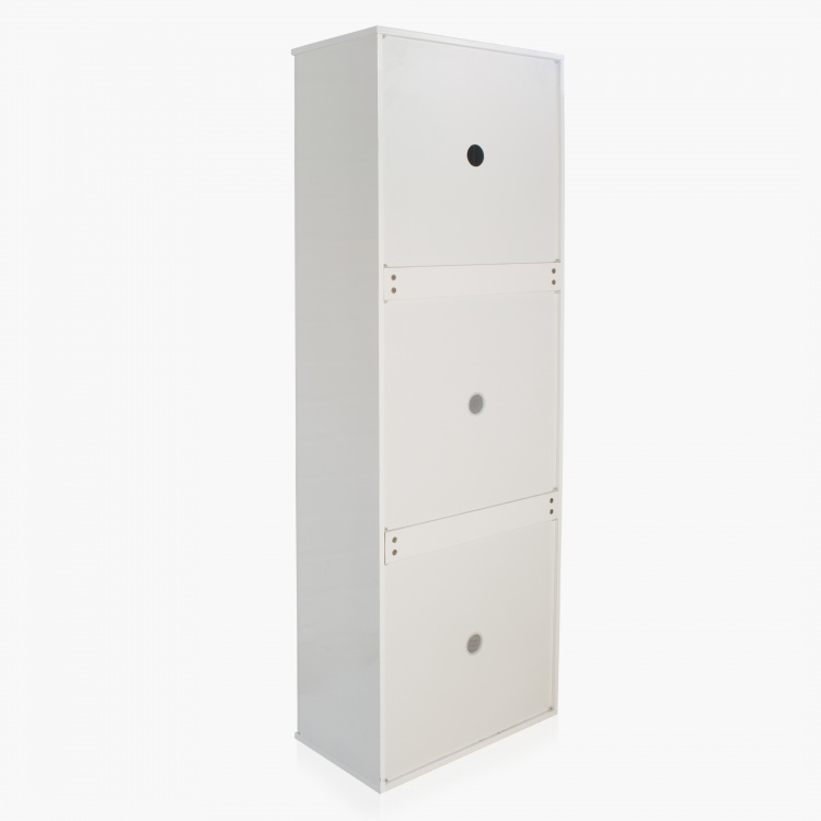 Alps Tall Shoe Cabinet - 33 Pairs